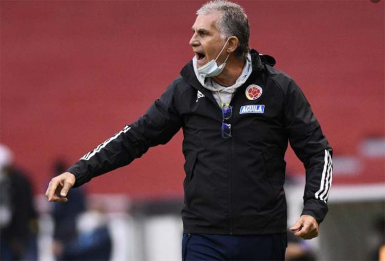 Lo que pidió Carlos Queiroz tras la derrota de la Selección Colombia en Ecuador