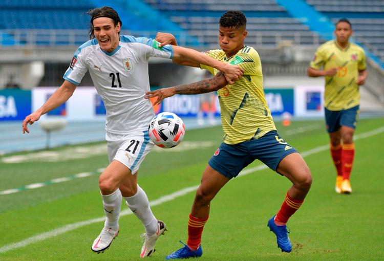 EN VIVO: Selección Colombia 0-1 Uruguay (parcial)