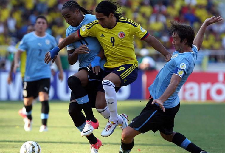 De Falcao García para la Selección Colombia antes del duelo ante Uruguay