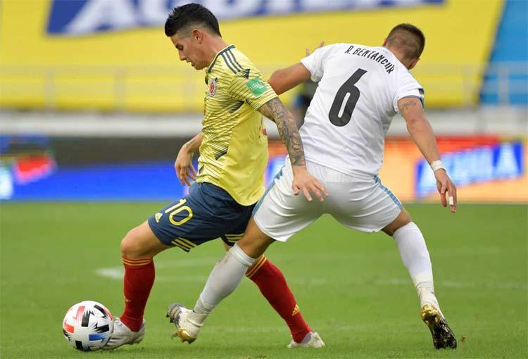 Selección Colombia: los que llegan a Ecuador en riesgo de suspensión