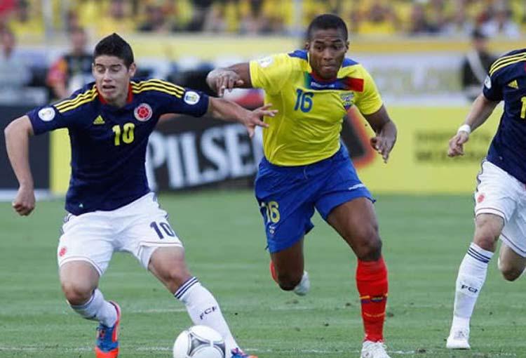 """El ecuatoriano que cree que ante la Selección Colombia les """"faltaron 9 goles"""""""
