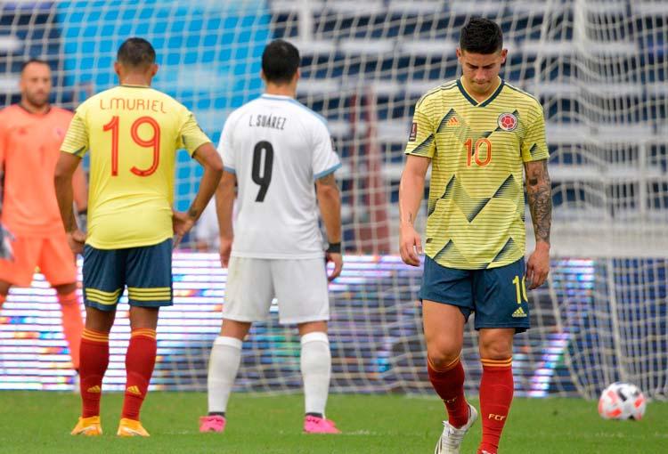 Selección Colombia y sus peores derrotas en casa