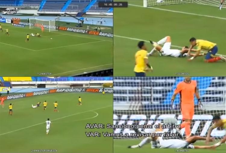 ¡Lo que pasó en el VAR durante el partido de la Selección Colombia vs. Uruguay!