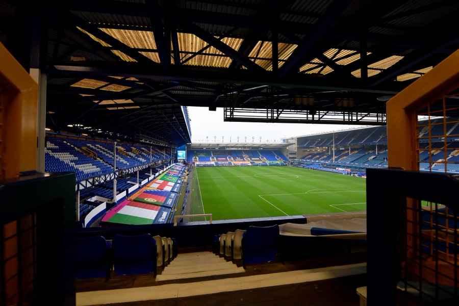 Formación titular confirmada del Everton contra Leeds United