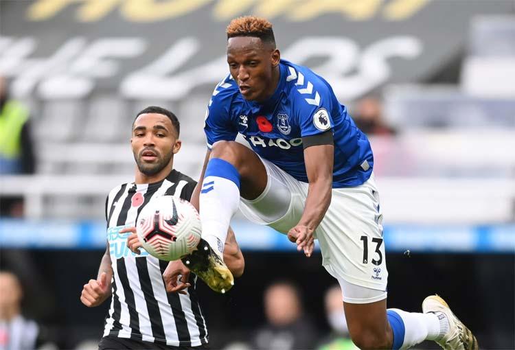 Newcastle United vs. Everton, Premier League: minuto a minuto