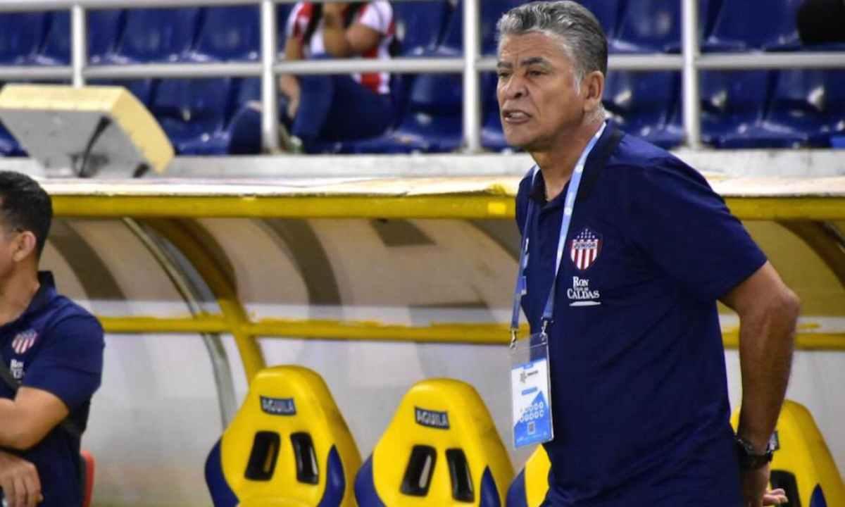 ¿Qué dijo el DT encargado de Junior tras la derrota en Copa Sudamericana
