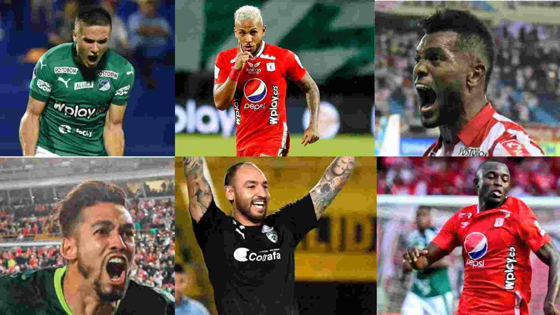 11 ideal de la Liga BetPlay Dimayor 2020 para Futbolete