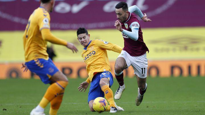 ¿Everton tiene mejor balance defensivo sin James Rodríguez?