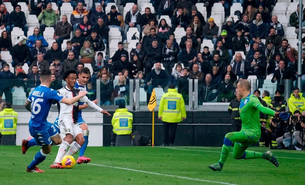 Gol de Cuadrado, dentro de lo mejores de la Juventus en el 2020