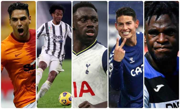 9 futbolistas colombianos destacados en ligas europeas