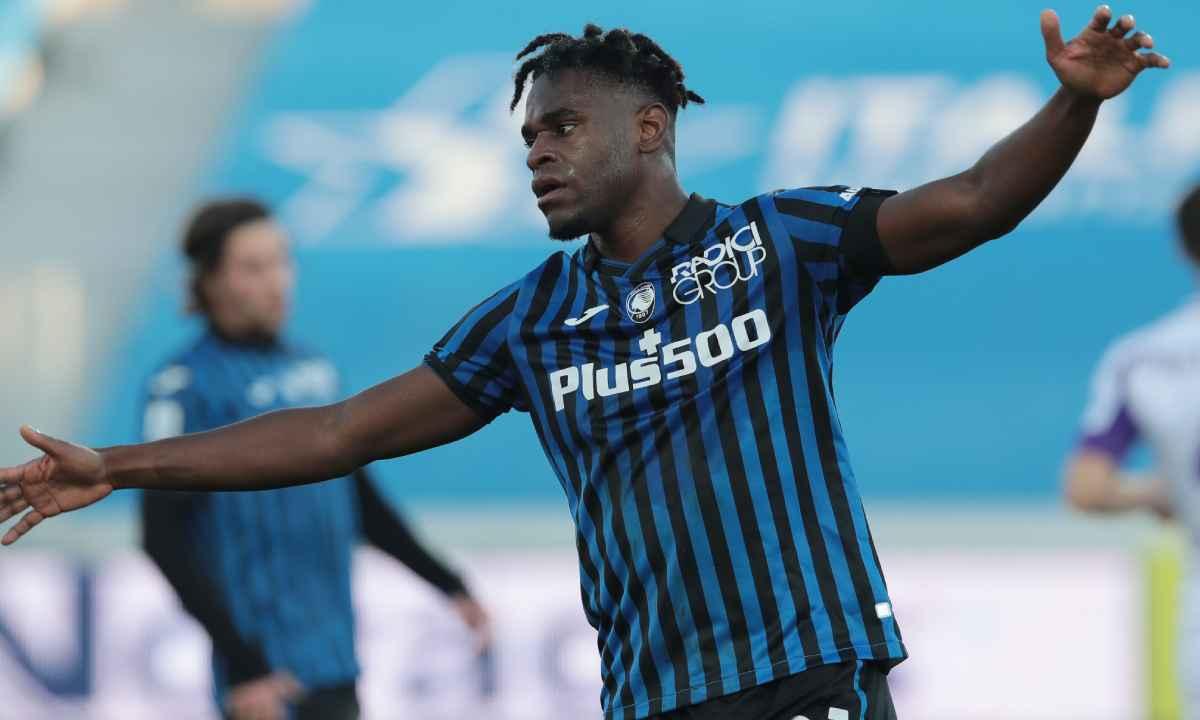 Atalanta goleó, pero Duván Zapata prolongó su sequía goleadora