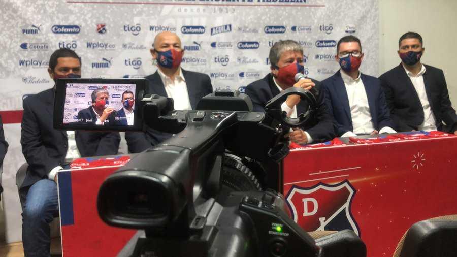 Bolillo Gómez confirma cuántos refuerzos llegarán al Independiente Medellín