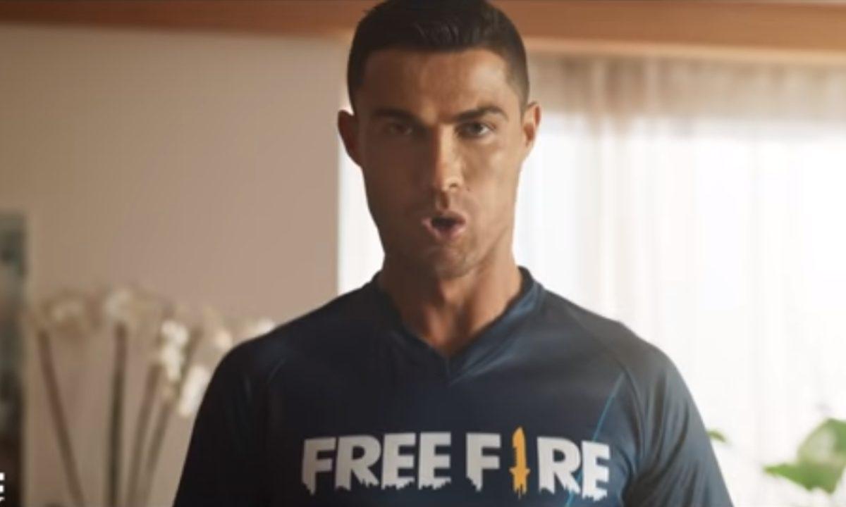 Cristiano Ronaldo es la nueva cara de Free Fire