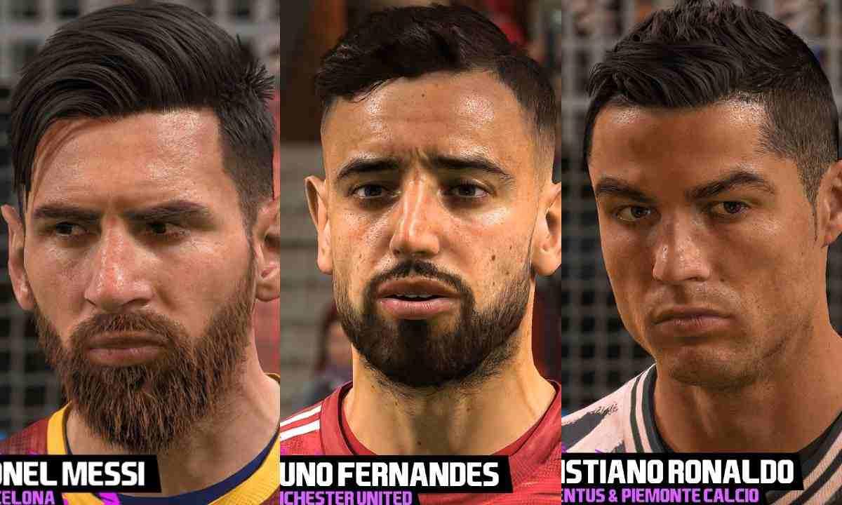 Críticas a FIFA 21 por los rostros de los jugadores en las consolas de next gen