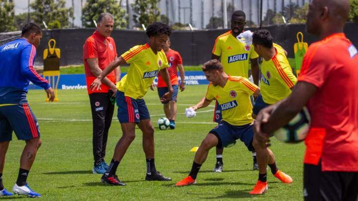 Cuadrado, primer jugador de Colombia que despidió a Carlos Queiroz