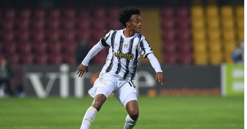 Juan Guillermo Cuadrado, invicto con Juventus ante el Torino