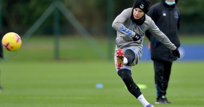 """Siguen las críticas para James Rodríguez con Everton: """"Tiene frio"""""""