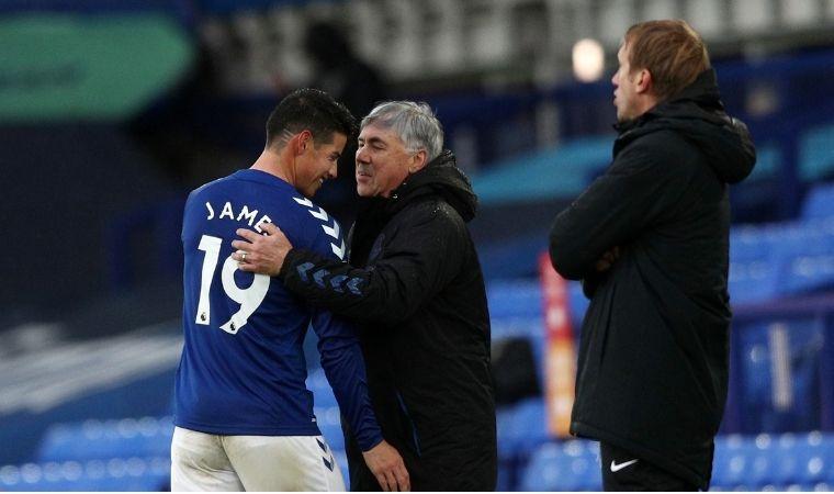 La estadística que inspira a James y Everton contra Chelsea