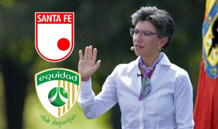 Claudia López sentenció la posibilidad de ver hinchas este año en los estadios de Bogotá