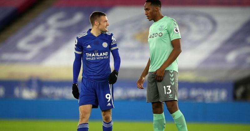 Otra vez sin James, Everton venció a Leicester City con Yerry Mina como titular