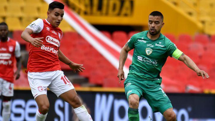 En vivo: Equidad 0-1 Santa Fe por la semifinal de la Liga BetPlay