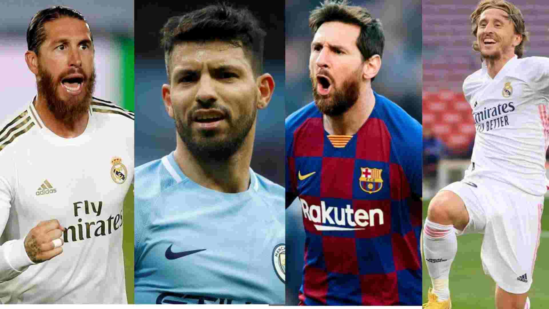 Estrellas del fútbol mundial que finalizan su contrato en 2021