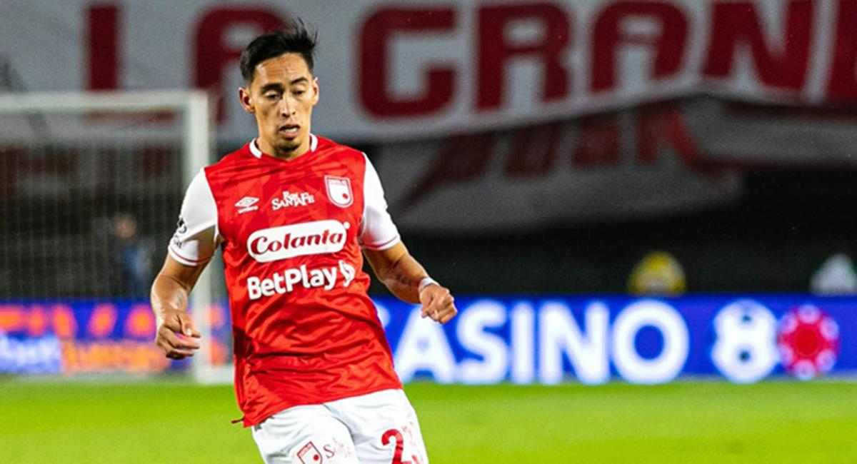 Fabián Sambueza saldría de Santa Fe a otro equipo del fútbol colombiano