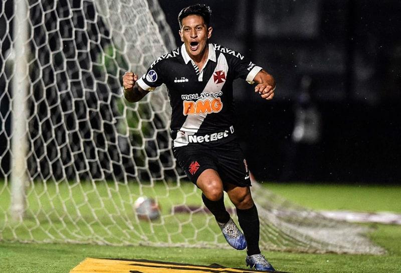 Germán Cano, COVID-19, nuevo coronavirus, Vasco da Gama, Brasileirão 2020, Copa Sudamericana 2020, Deportivo Independiente Medellín, DIM, ex-DIM, ex Deportivo Independiente Medellín