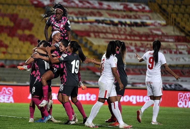 Independiente Santa Fe, América de Cali, Atlético Huila, Liga Femenina BetPlay