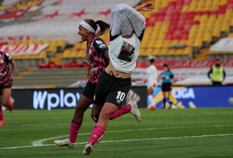 Independiente Santa Fe, América de Cali, Liga Femenina BetPlay 2020