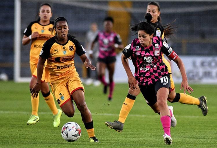 Independiente Santa Fe, Deportivo Independiente Medellín, DIM, Liga Femenina BetPlay 2020