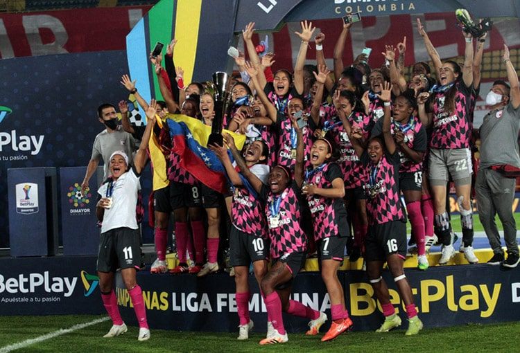 Independiente Santa Fe, campeón, América de Cali, Liga Femenina BetPlay 2020