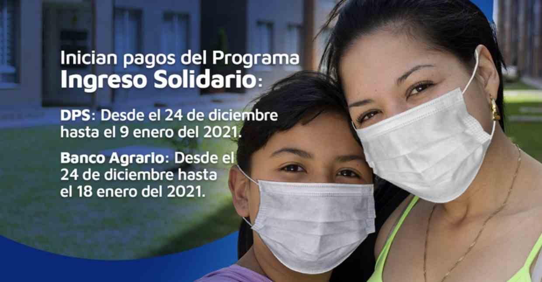 Ingreso Solidario: Pagos durante enero en Supergiros
