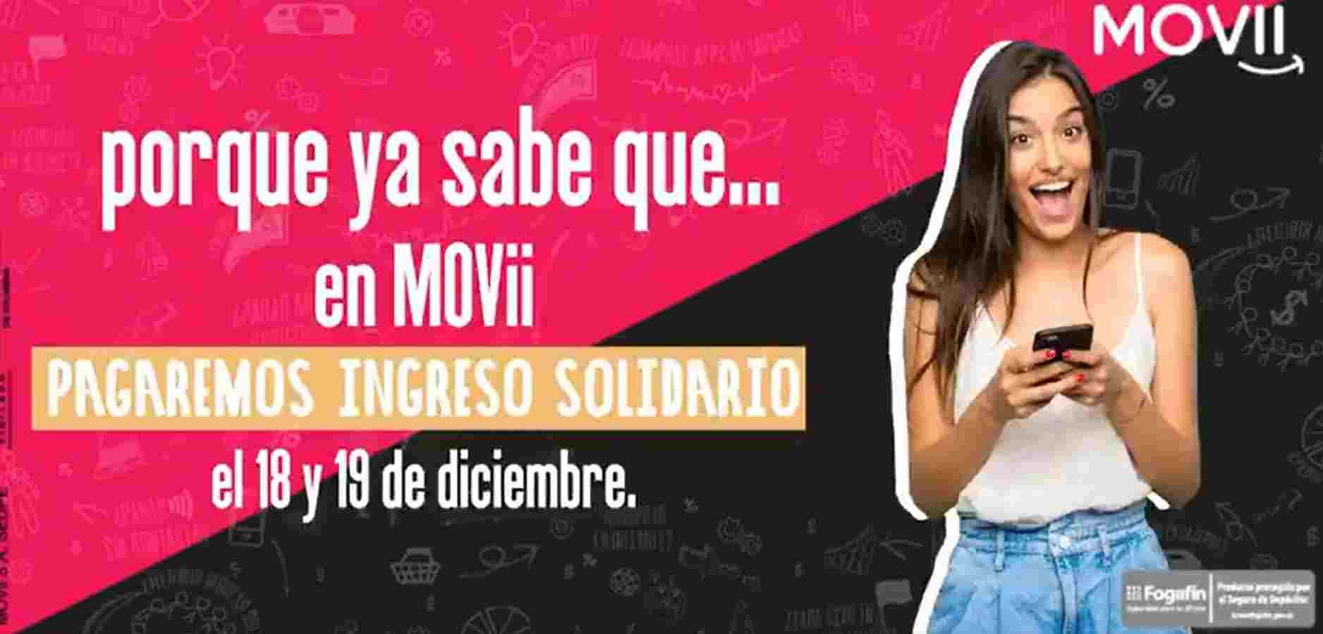 Ingreso Solidario en MOVii: ¿Es obligatoria la tarjeta?