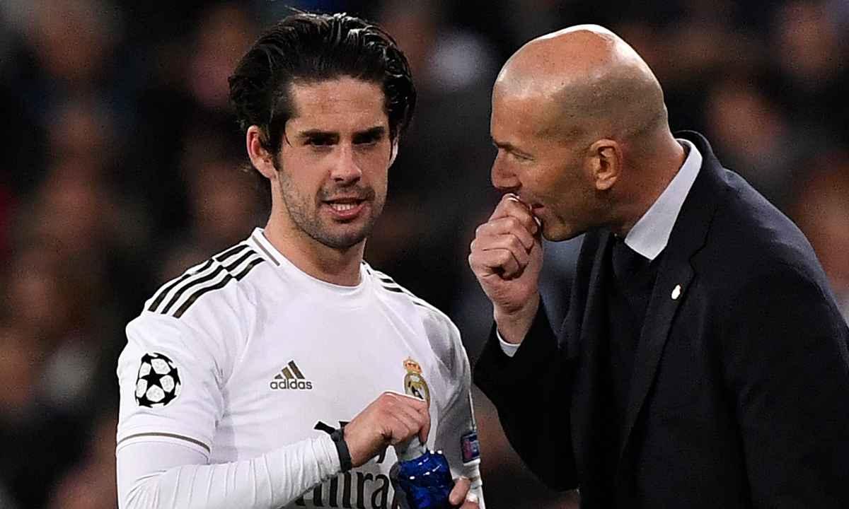 Isco, viviendo lo mismo que James en el Real Madrid de Zidane