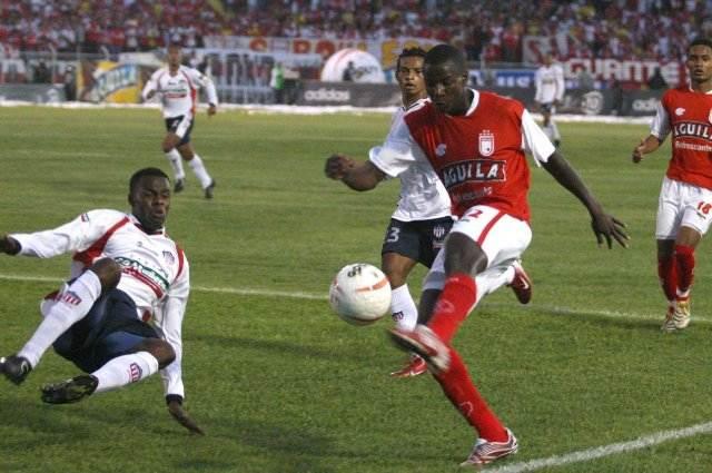 La temporada que Adrián Ramos jugó con Santa Fe