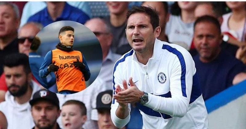 Las declaraciones de Frank Lampard que coinciden con las de James Rodríguez sobre Ancelotti