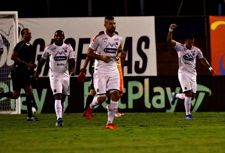 Leonardo Castro, Envigado FC 0-3 DIM, Liguilla BetPlay 2020