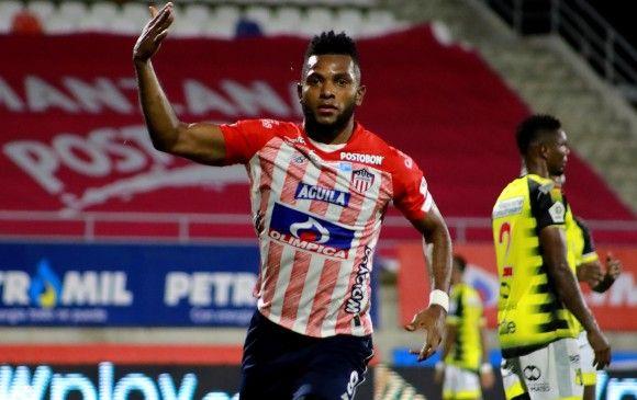 Miguel Ángel Borja no jugaría Copa Libertadores con Palmeiras