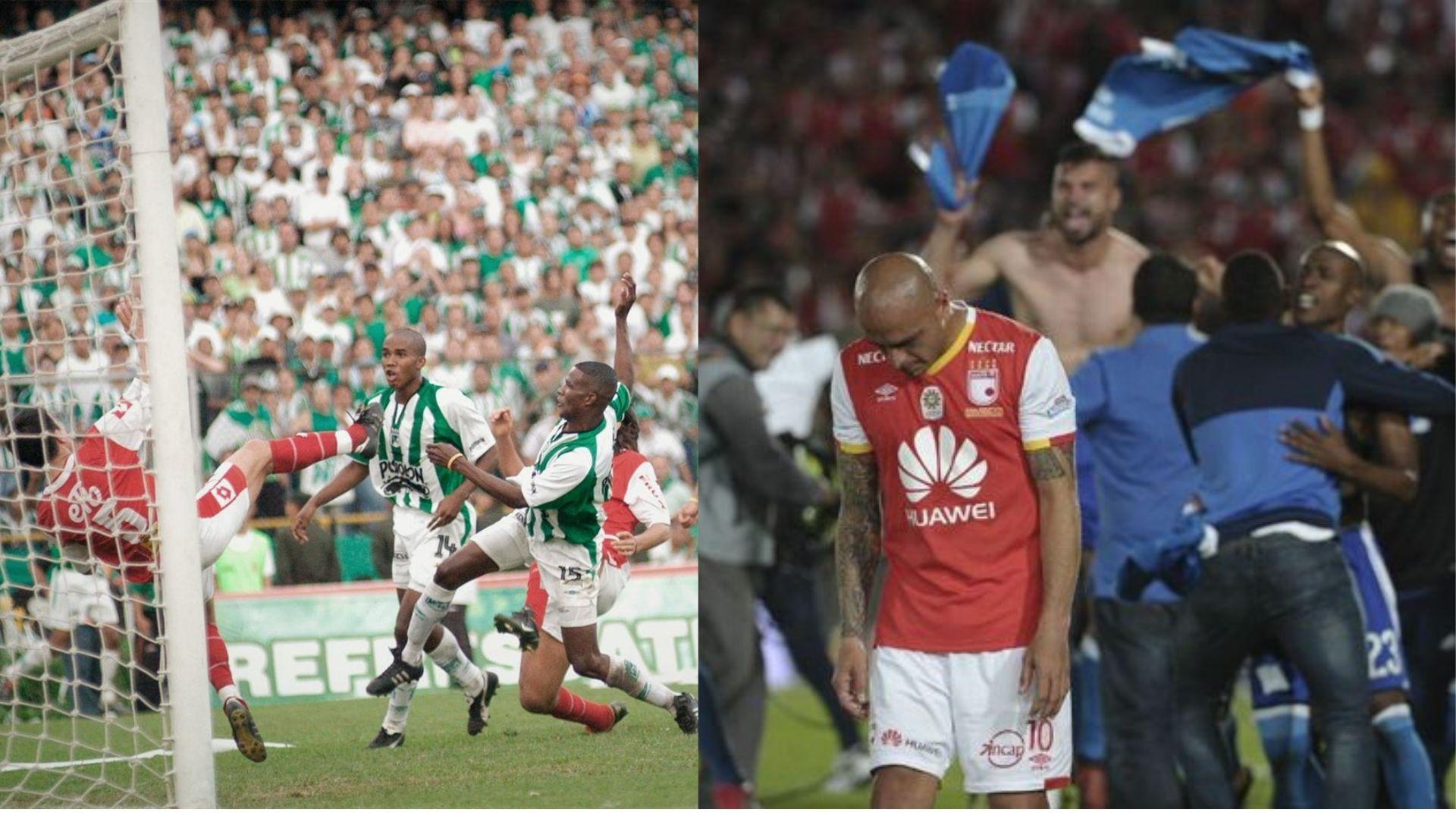 Santa Fe, en deuda en las finales ante los grandes del fútbol colombiano