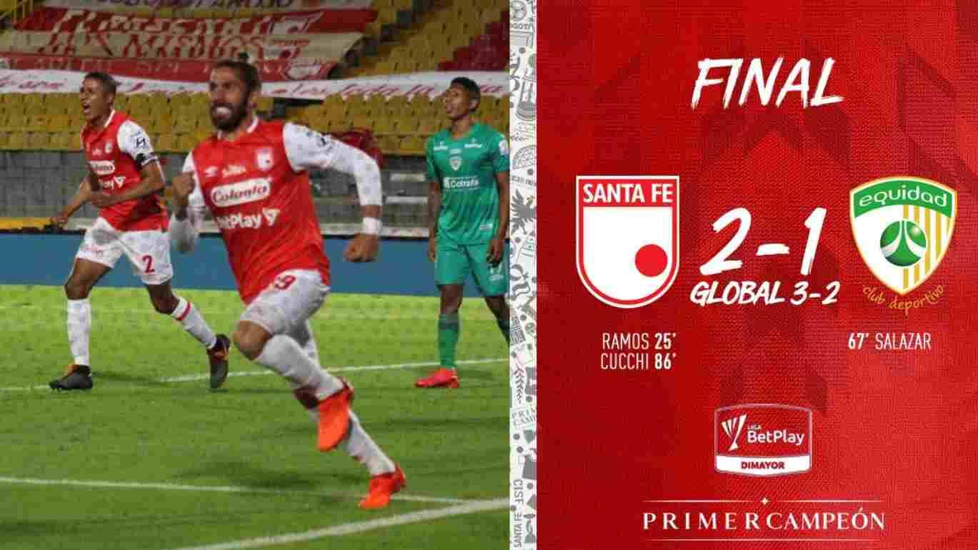 Santa Fe llega a la final de la Liga BetPlay