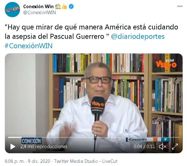 Lo que dijo Hugo Illera de América de Cali tras los contagios de COVID-19 en Junior 4