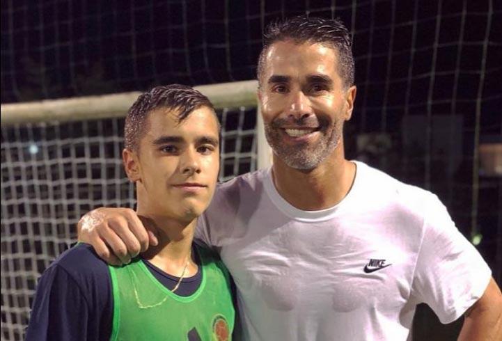 Atlético Nacional, Juan Pablo Ángel y lo que dice de la carrera de su hijo, Tomás Ángel
