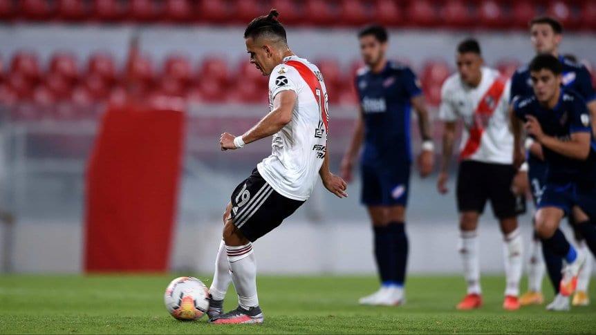 Marcelo Gallardo habló sobre el penal errado de Santos Borré con River Plate