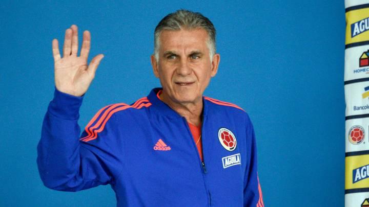 Las primeras opciones para reemplazar a Queiroz en Colombia