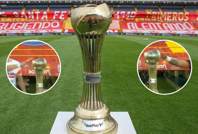Final Liga BetPlay: ¡Los que tocaron el trofeo antes del partido!