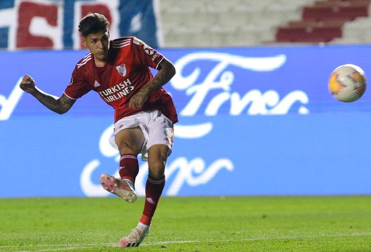 ¡Vaya golazo marcó Jorge Carrascal en la Copa Libertadores!