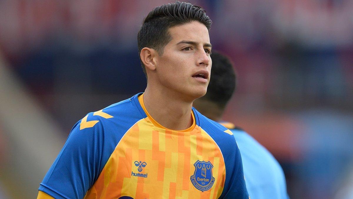 """DT mundialista """"extraña"""" a James Rodríguez con Everton"""
