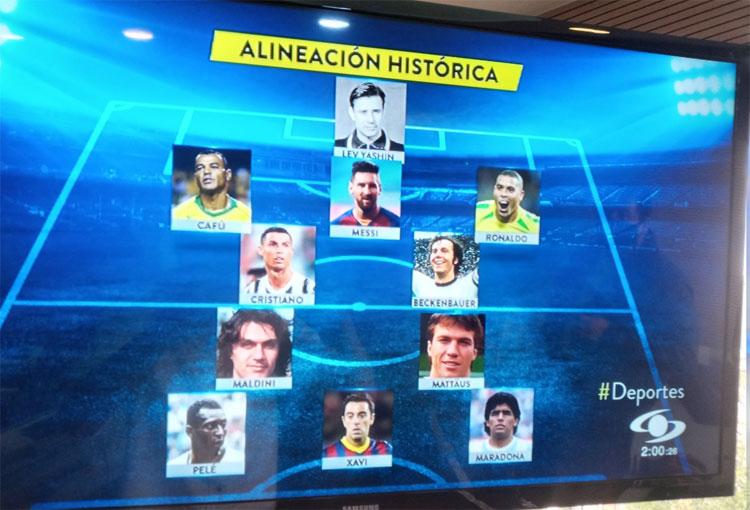 ¿Qué tiene que ver el 11 Histórico de France Football con Juan Carlos Osorio?