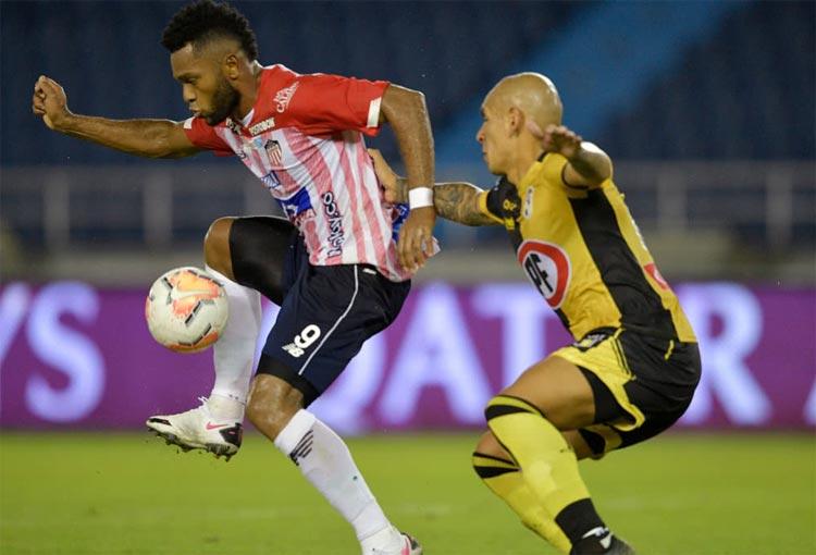 La titular de Junior ante Coquimbo Unido por Copa Sudamericana